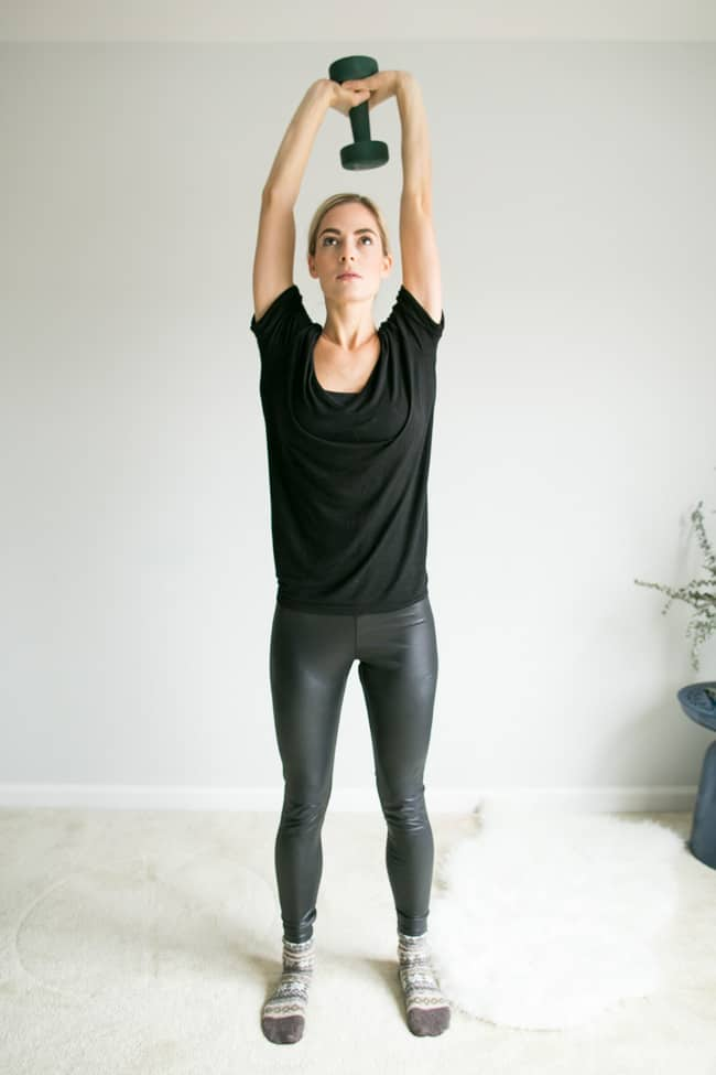 5 Moves for Toned Arms Using Weights - Tricep Dip