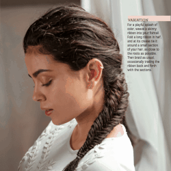 Romantic Fishtail Tutorial from The Art of Hair + Giveaway (closed)