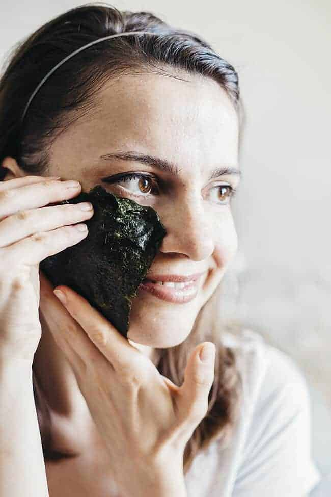 Seaweed Sheet Mask from Hello Glow