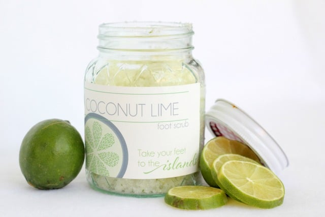 Coconut Lime Foot Scrub by Ma Nouvelle Mode