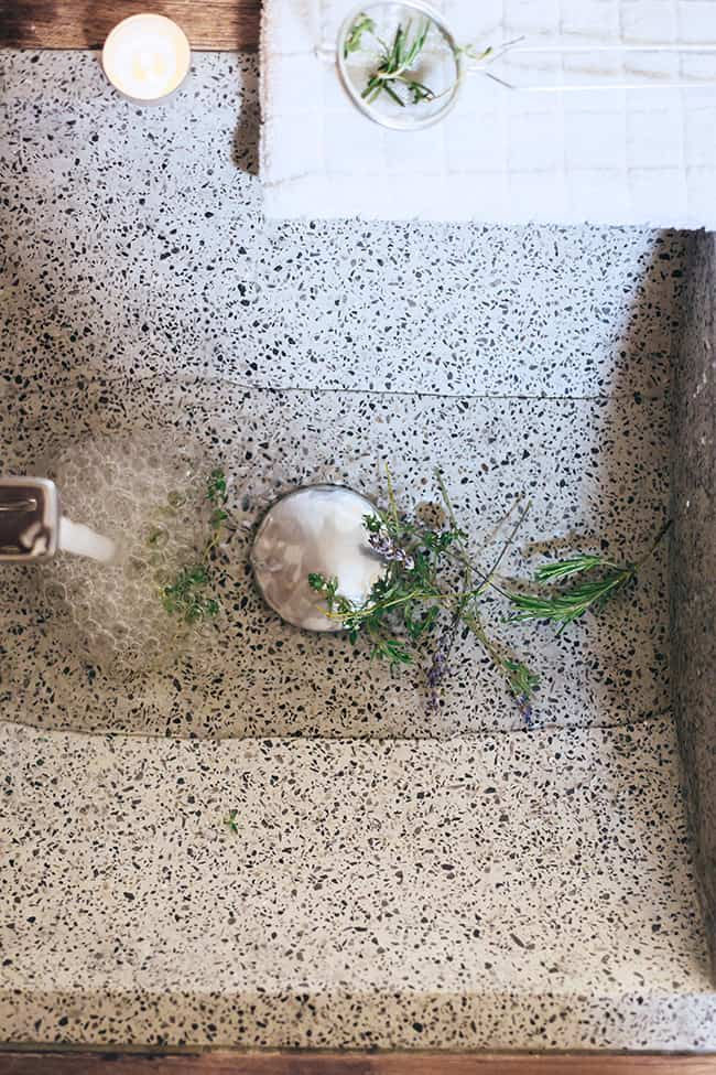 Fresh Herb Bath Recipe