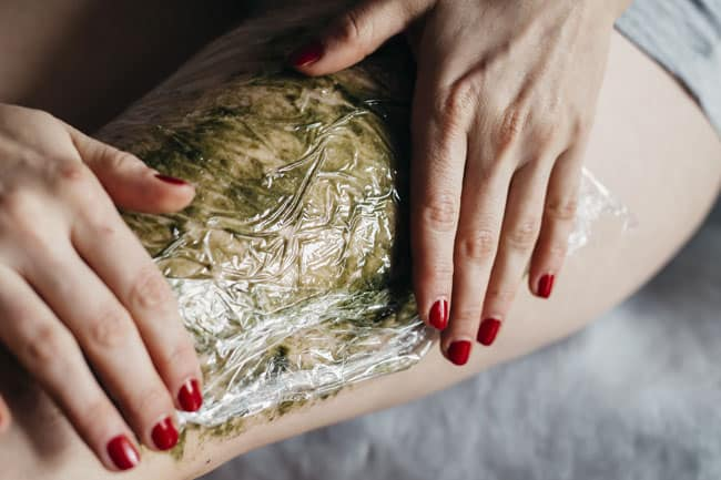Seaweed Body Wrap Cellulite Remedy