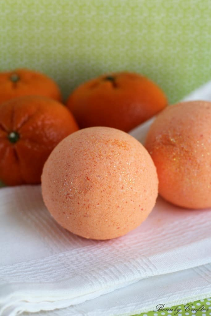 Therapeutic Orange Bath Bombs