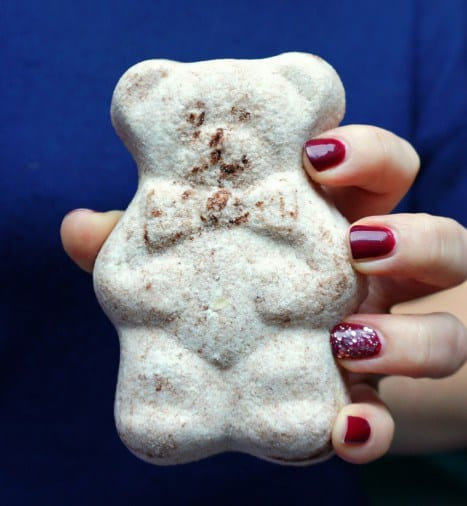 Cocoa bear bath bombs