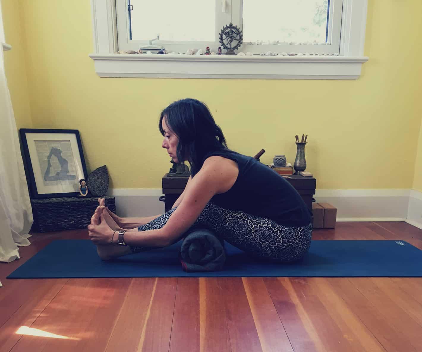 Yoga Poses for Digestion - Forward Fold