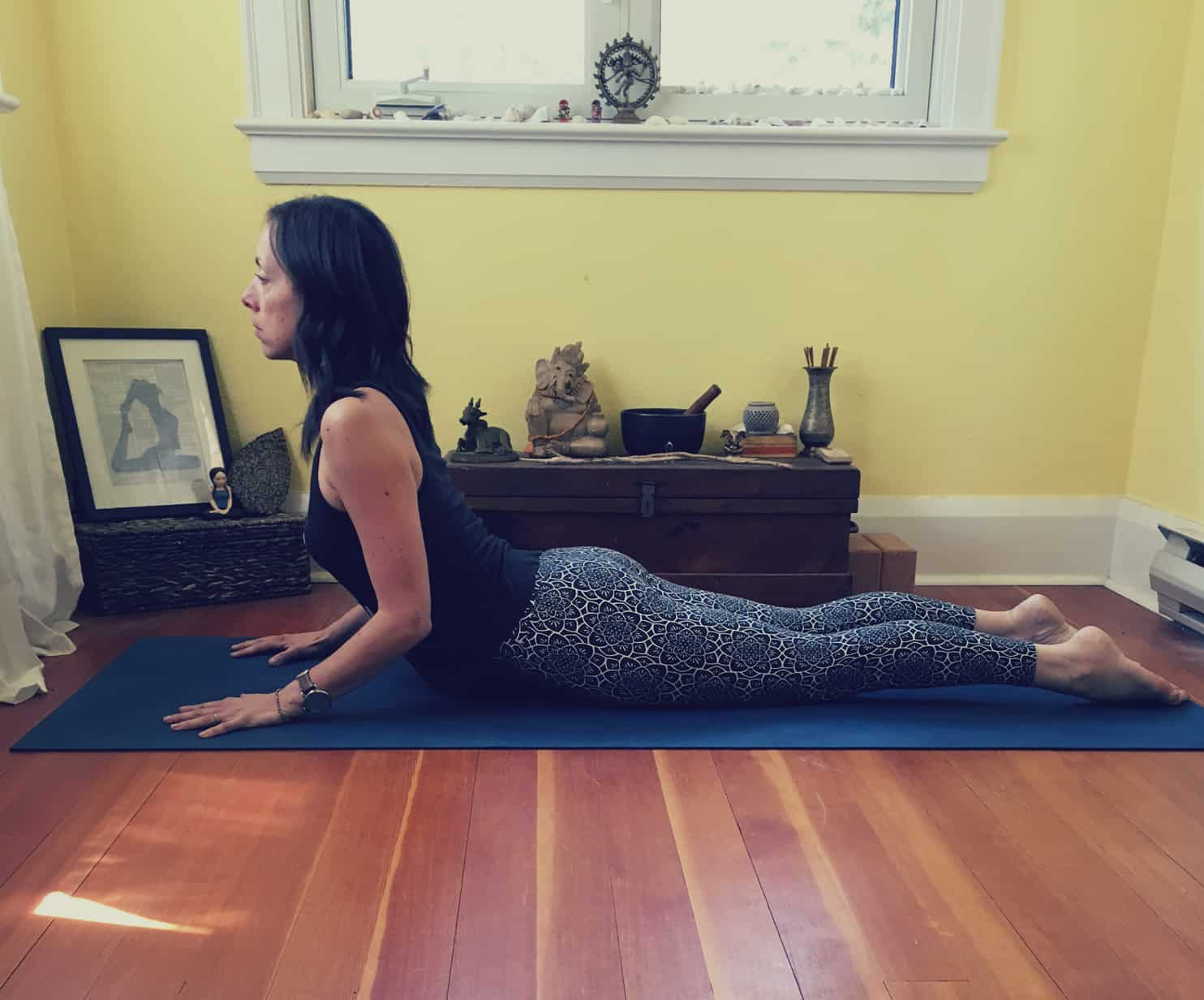 Yoga Poses for Digestion - The Cobra