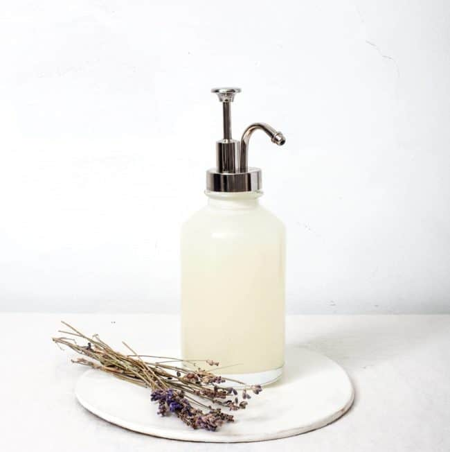 DIY Lavender Infused Hand Soap
