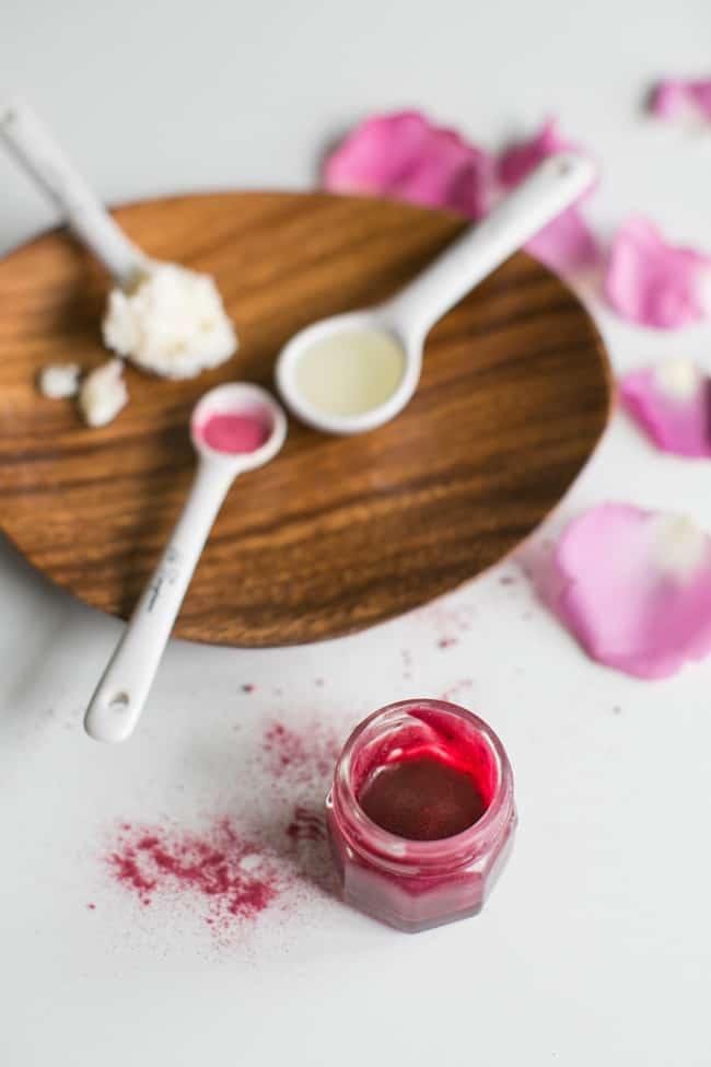 DIY Beet Blush + Lip Stain