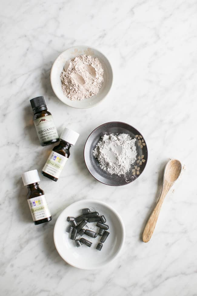 Activated charcoal | 6 Ways to Make Your Own Exfoliating Cleansing Grains