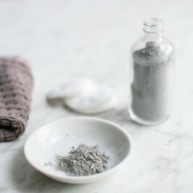Detox Clay + Charcoal Homemade Facial Cleanser