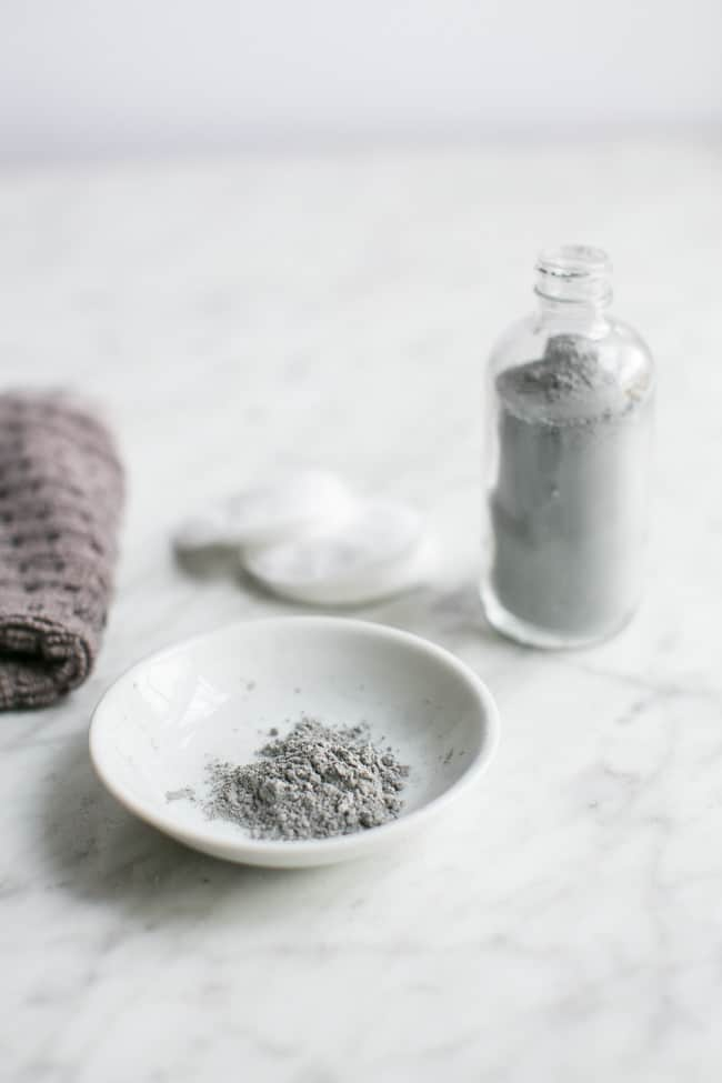 Homemade Facial Cleanser with Charcoal