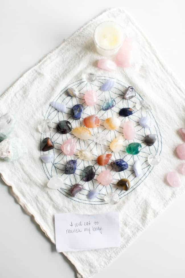 how to choose a crystal grid