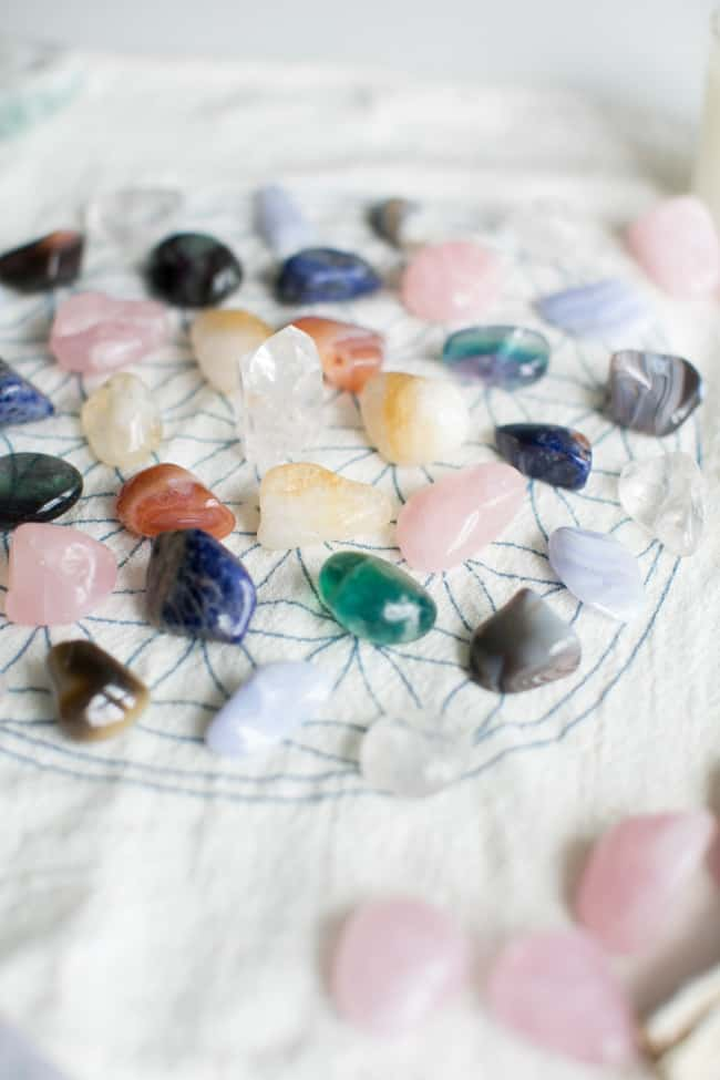 How to make a crystal grid stone choice