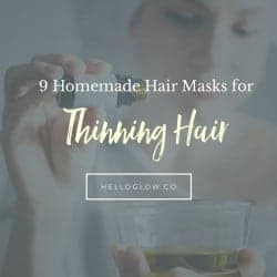 9 Homemade Hair Masks for Thinning Hair