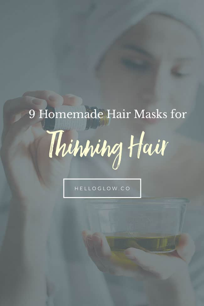 9 Thinning Hair Masks