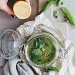 Pea and Avocado Soup