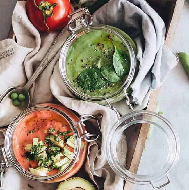 2 Raw Soup Recipes for Summer