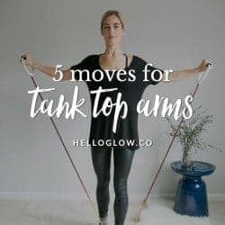 5 Moves To Perfectly Toned Tank Top Arms