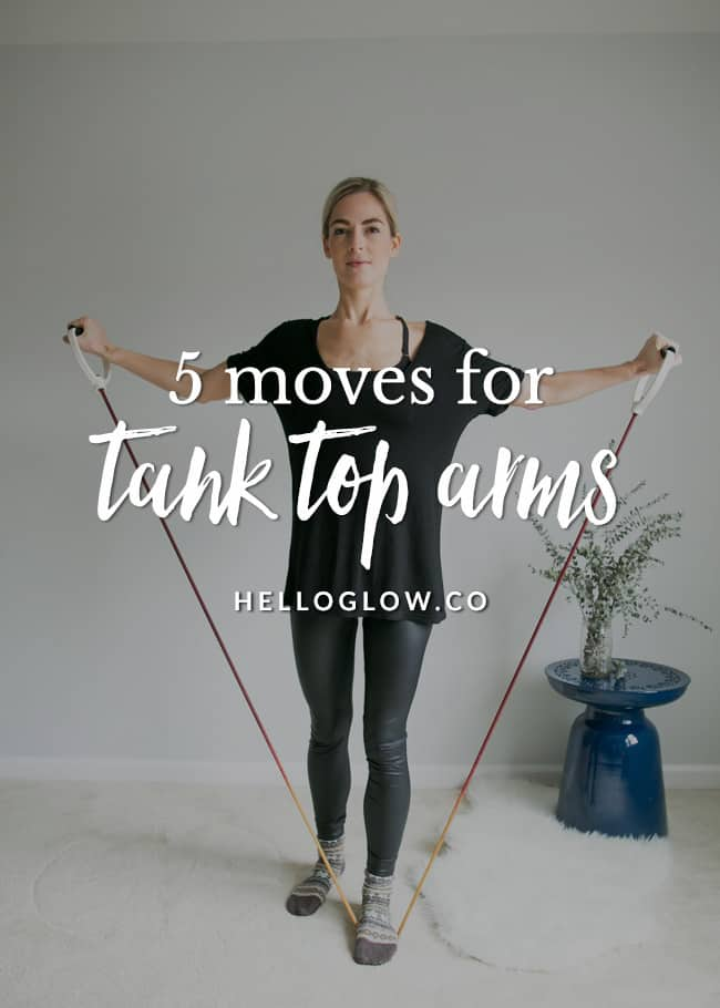 5 Tank Top Arm Exercises