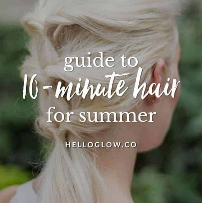 10 Go-To Easy Summer Hairstyles