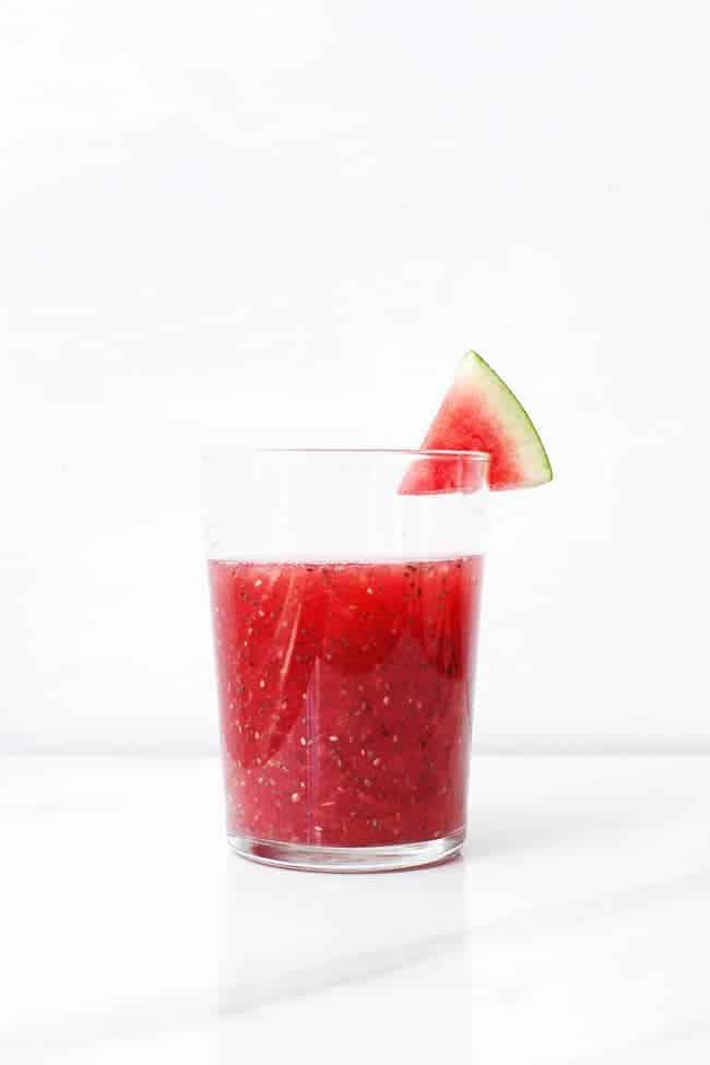 Watermelon Chia Agua Fresca