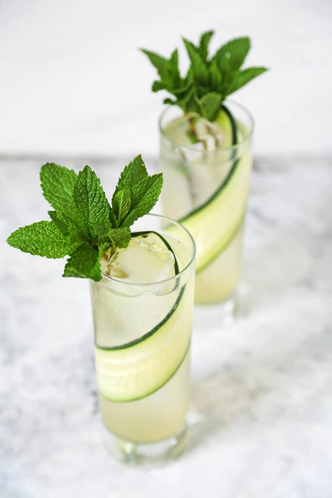 Aloe Cucumber Cooler from Arsenic Lace