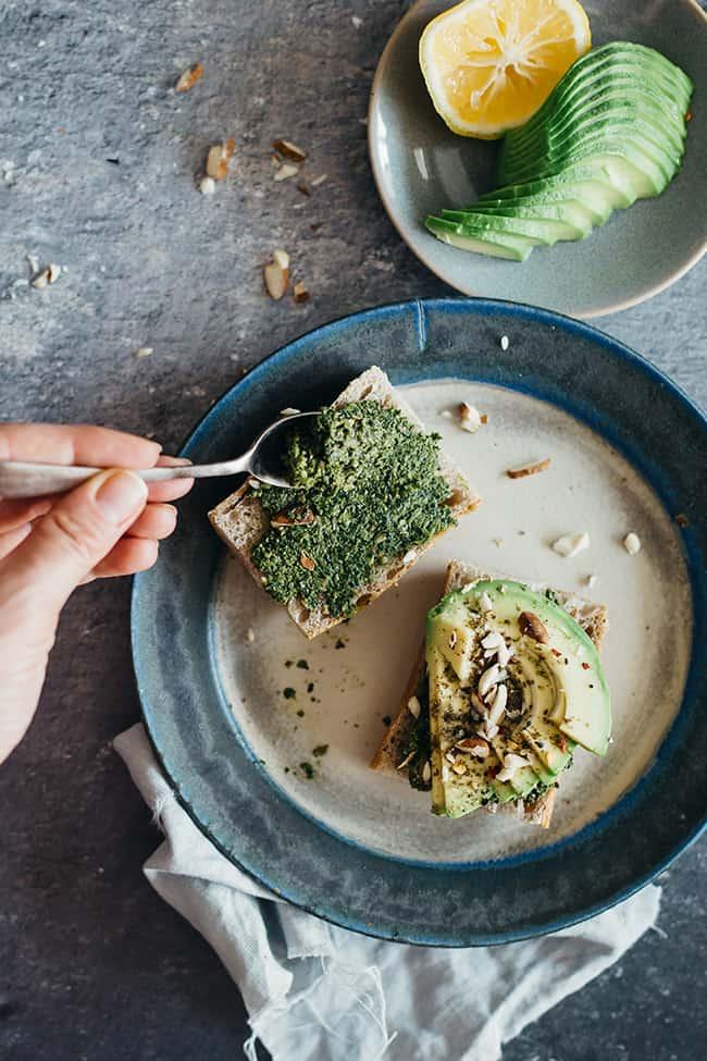 Quick Avocado Toast | 7 Ways to Eat An Avocado