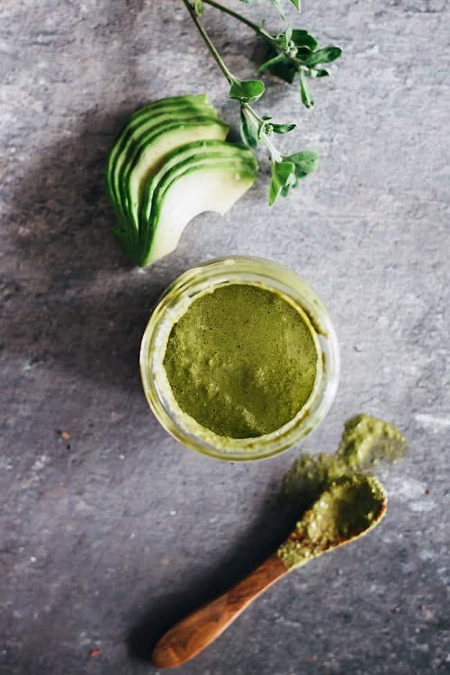 Light Green Goddess Dressing | 7 Ways to Eat An Avocado