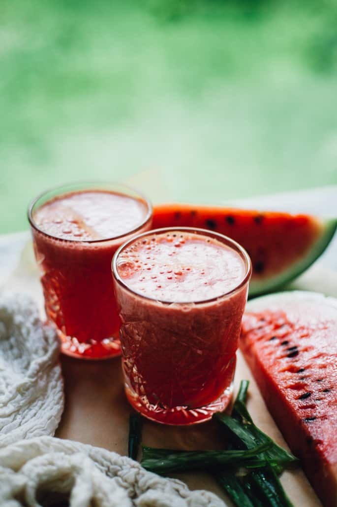 Watermelon Coconut Aloe Juice from Will Frolic for Food