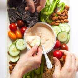 Healthy Hosting with Chobani Mezé Dips