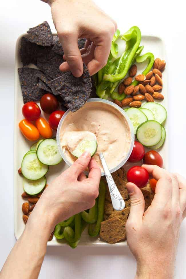Healthy-Hosting-With-Chobani-Meze-Dips-5