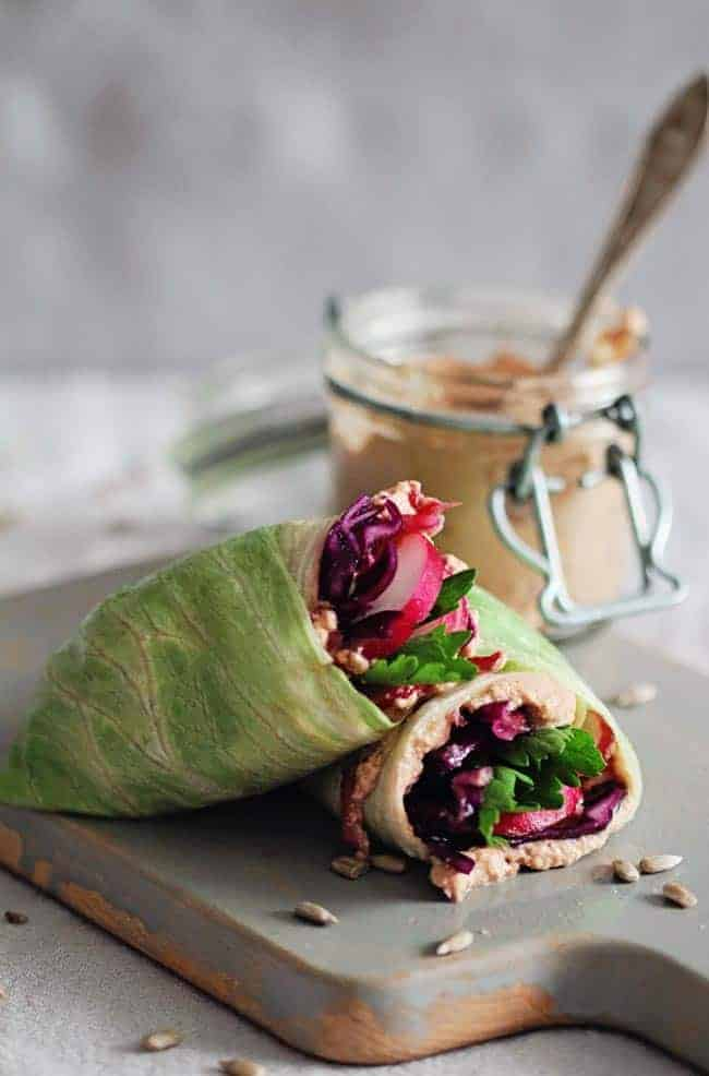 Detox Lunch Wrap by Hello Glow