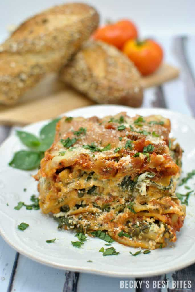 Lasagna with Veggies