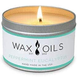 Wax and Oils Soy Wax Aromatherapy Scented Candles