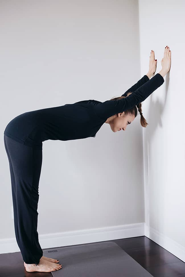 Wall Stretch | Wake-Me-Up Morning Yoga Stretches