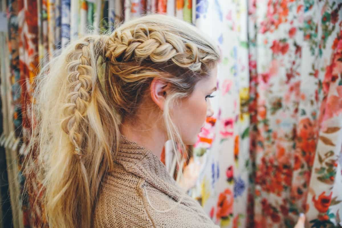 Dutch pony tail - 11 Braided Ponytail Tutorials Perfect for Fall