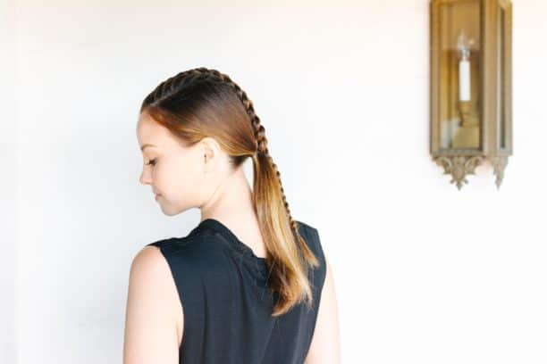 Center braid ponytail - 11 Braided Ponytail Tutorials Perfect for Fall