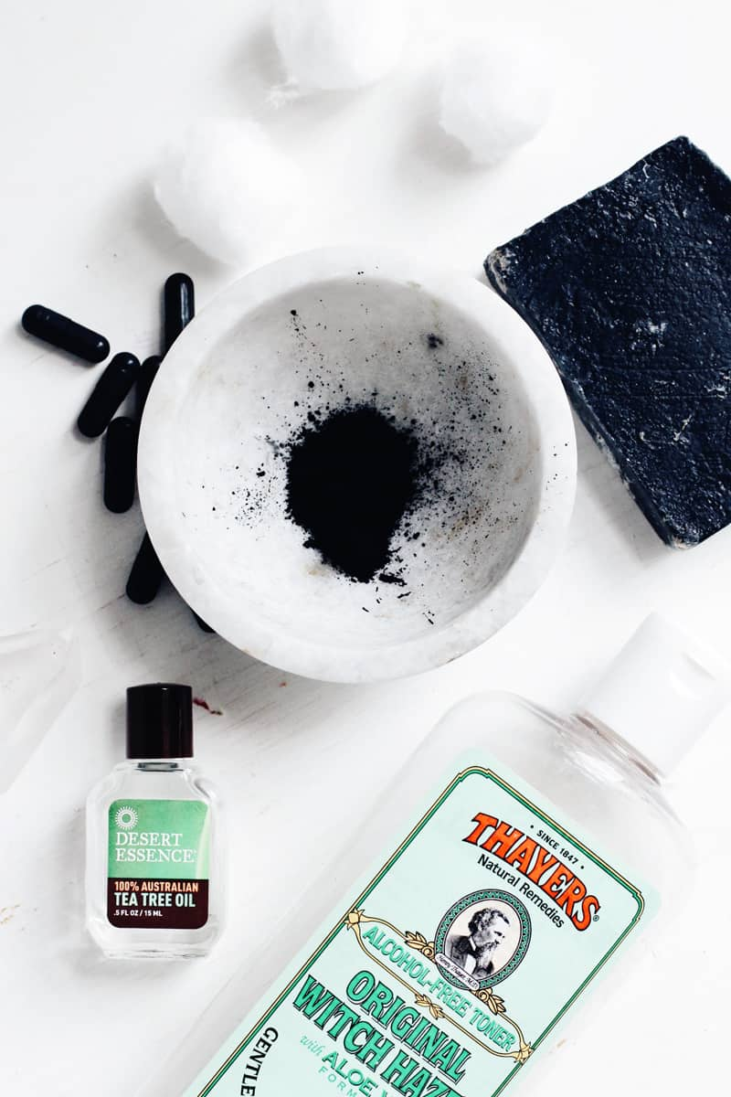 10 Ways to Use Activated Charcoal at Home - Fight Acne