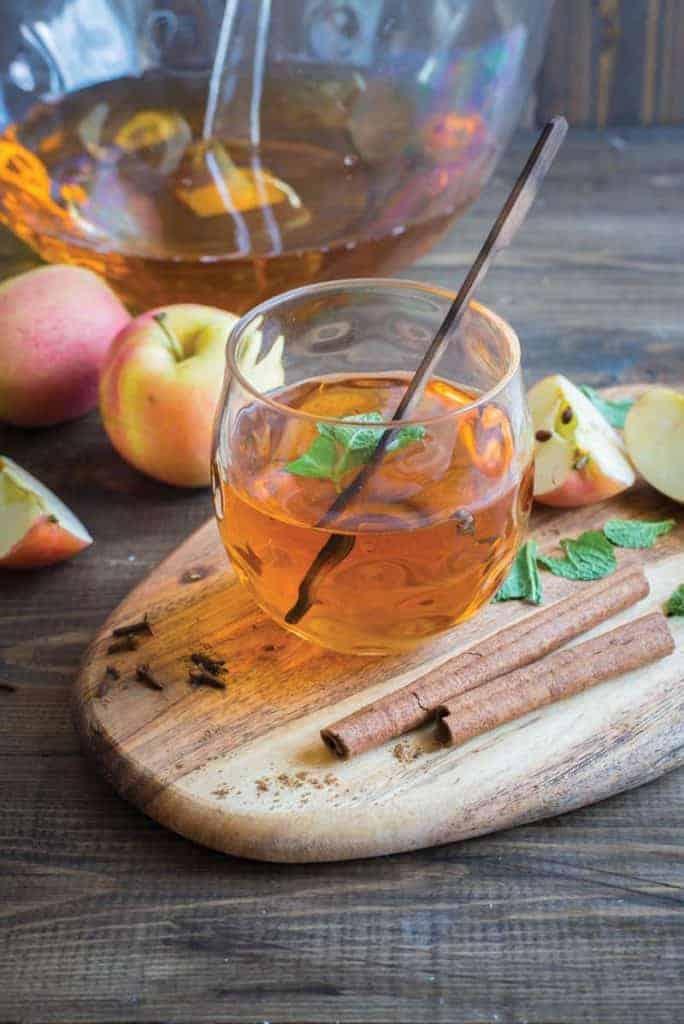 Energizing Autumn Cinnamon-Apple Shrub