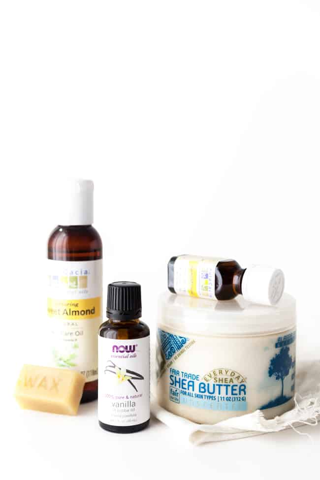 DIY Sandalwood Vanilla Solid Perfume