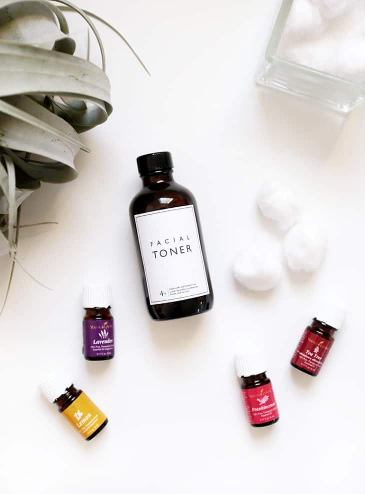 15 Ways to Make Your Own Homemade Toner - Oil Balancing Toner