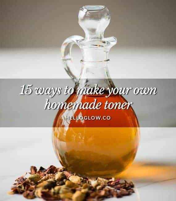 15 Ways to Make Your Own Homemade Toner
