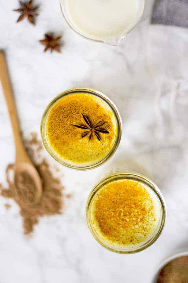 Chai-Spiced Turmeric Latte from Hello Glow