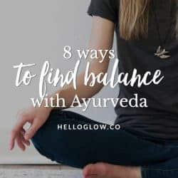8 Ayurvedic Tips for Finding Balance in the Fall
