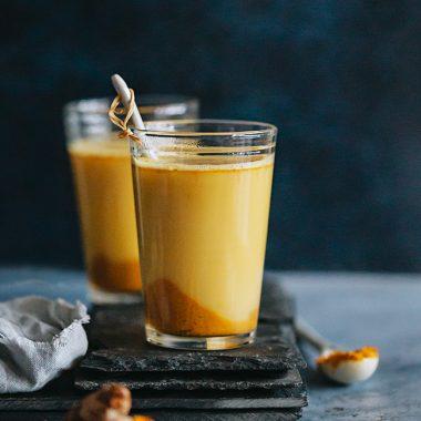 Healing Milks: Turmeric Golden Milk + Spiced Almond Milk