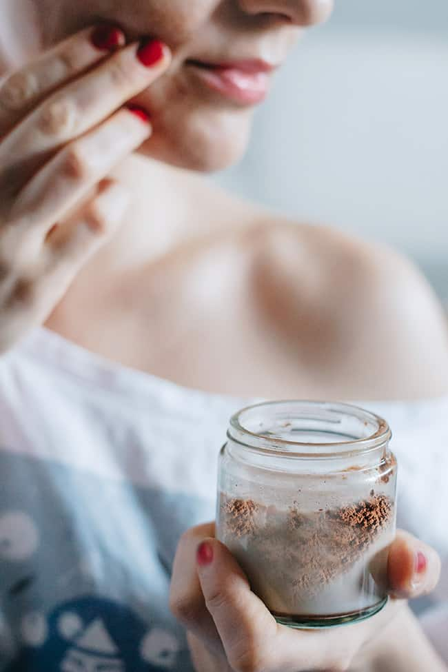 Exfoliating Nutmeg Facial Scrub