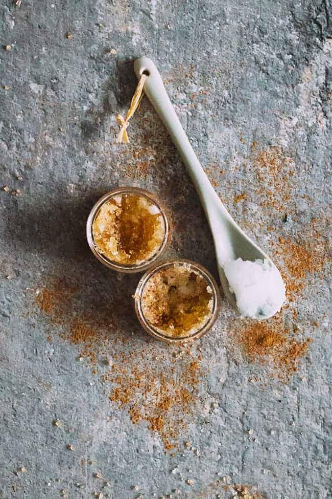 Pumpkin spice lip scrub recipe