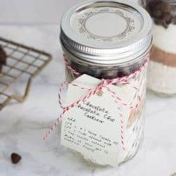 A Holiday Gift Everyone Will Love: Vegan Double Chocolate Chip Cookies in a Jar
