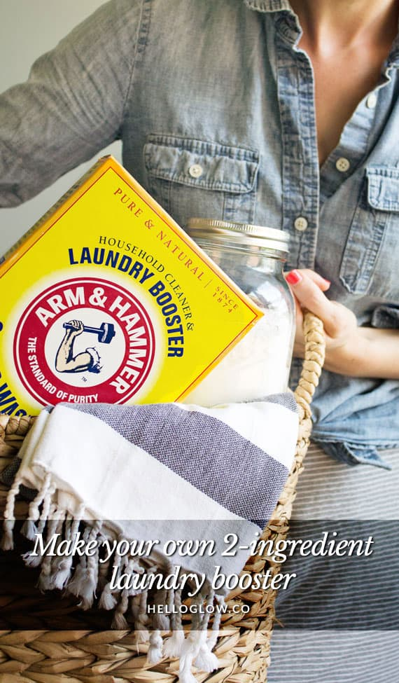 Make Your Own 2-Ingredient Laundry Booster