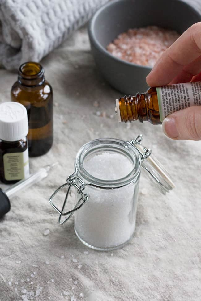 3 Infused Bath Salts to Help You Relax Any Time of Day